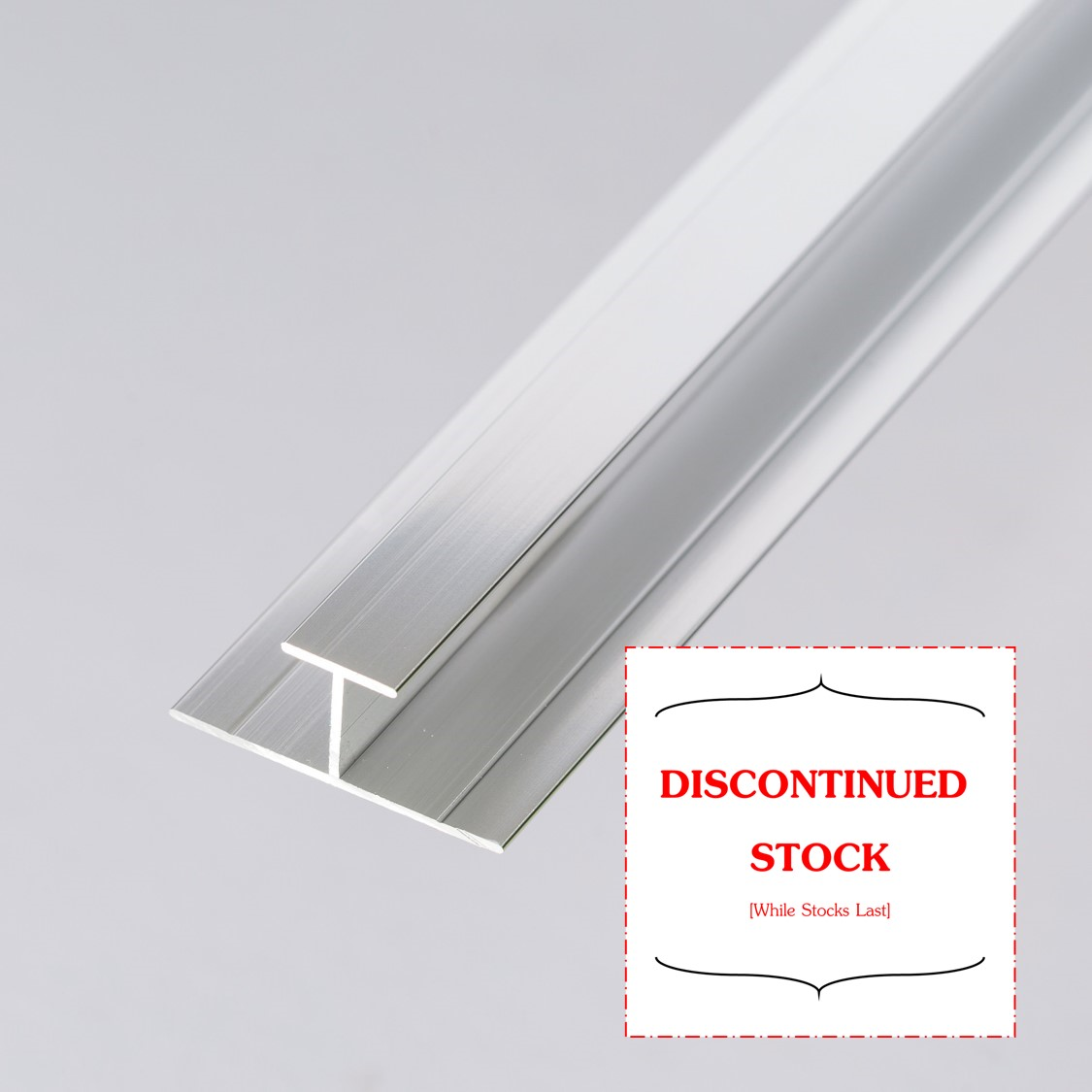 Wall Cladding Division Bar Discontinued Sale Whilst