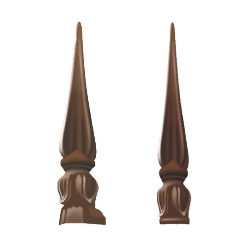 Tulip Finial Aluminium