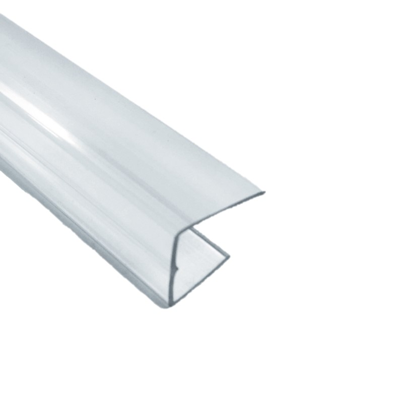 Clear Polycarbonate U Profile Storm Building Products