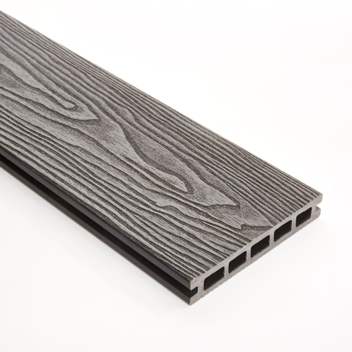 Wpc Double Faced Decking Grey Triton Storm Building Products
