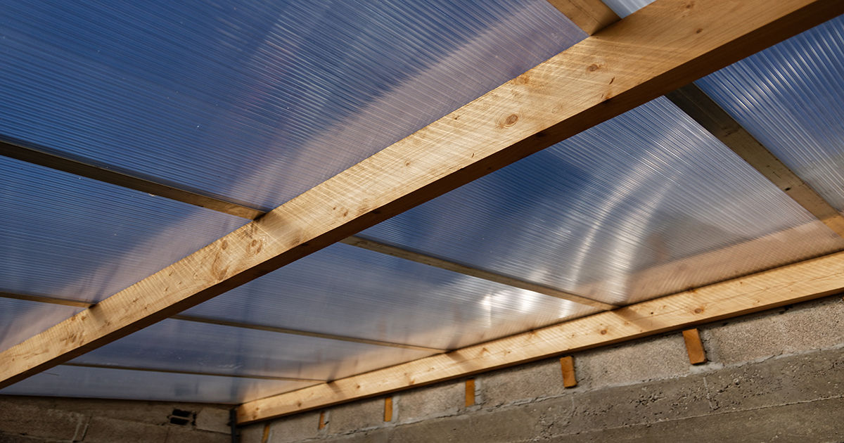 Polycarbonate Sheeting Twinwall Or Multiwall Storm Building Products