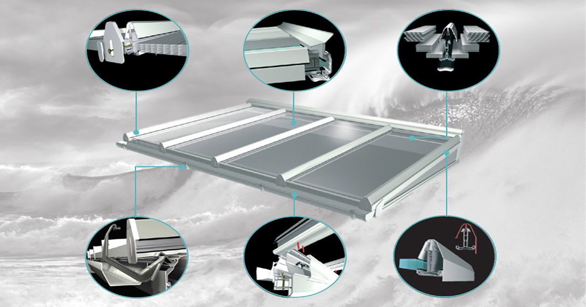 self supported roof systems